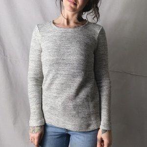 NWT CLUB MONACO Irina Honeycomb Knit Sweater